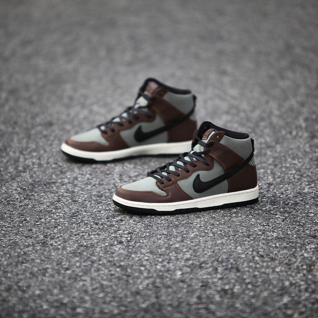 Nike,SB Dunk High Pro,BQ6826-2  配色神似倒钩 AJ1!全新 SB Dunk Hi 近期发售