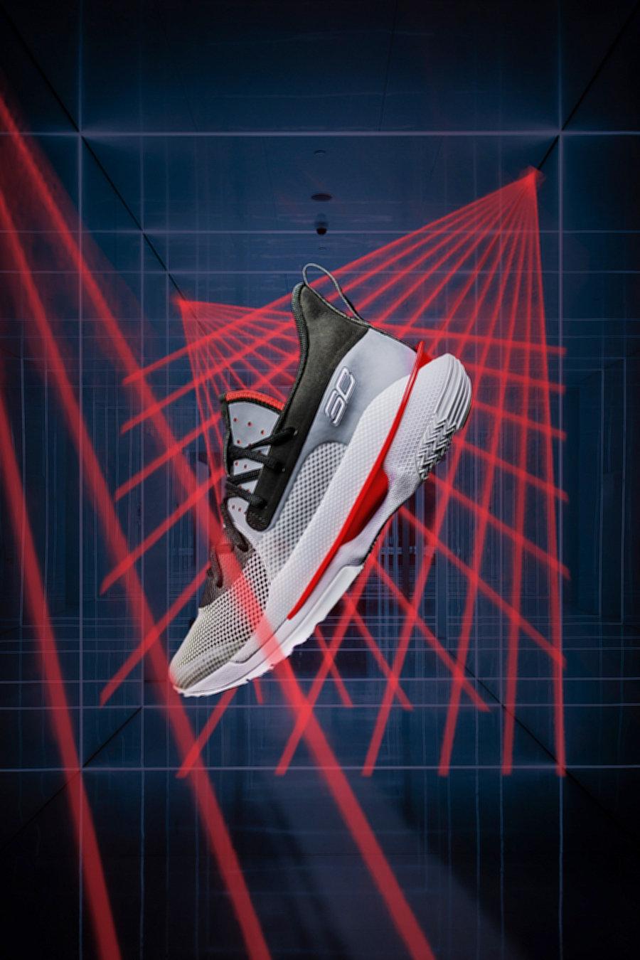 UA,Under Armour,Curry 7,开箱,上脚, 双重缓震脚感如何?UA Curry 7 今日发售!抢先上脚体验!