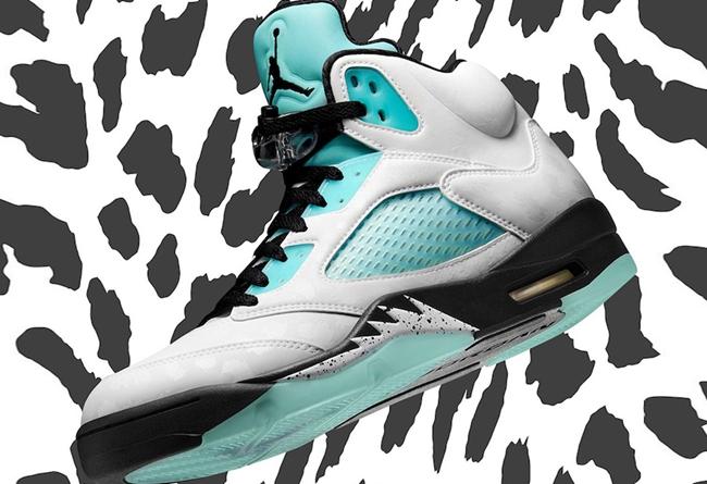 AJ5,AJ,Air Jordan 5,Island Gre 鞋面暗藏玄机!「雪豹」AJ5 官网预告正式释出!