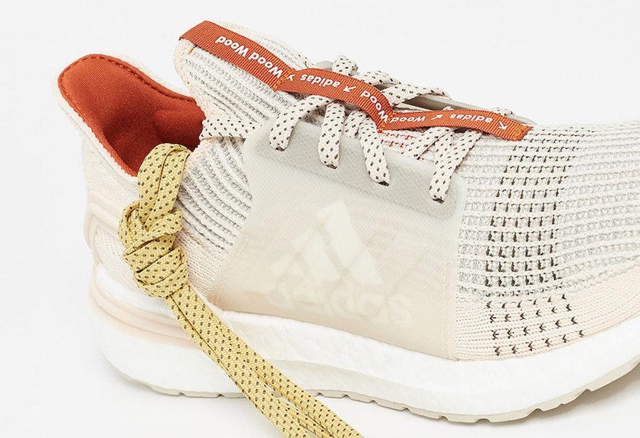 UB19,Ultra Boost 19,Ultra Boos  小众精品!Wood Wood 再次携手 adidas 打造个性联名跑鞋!