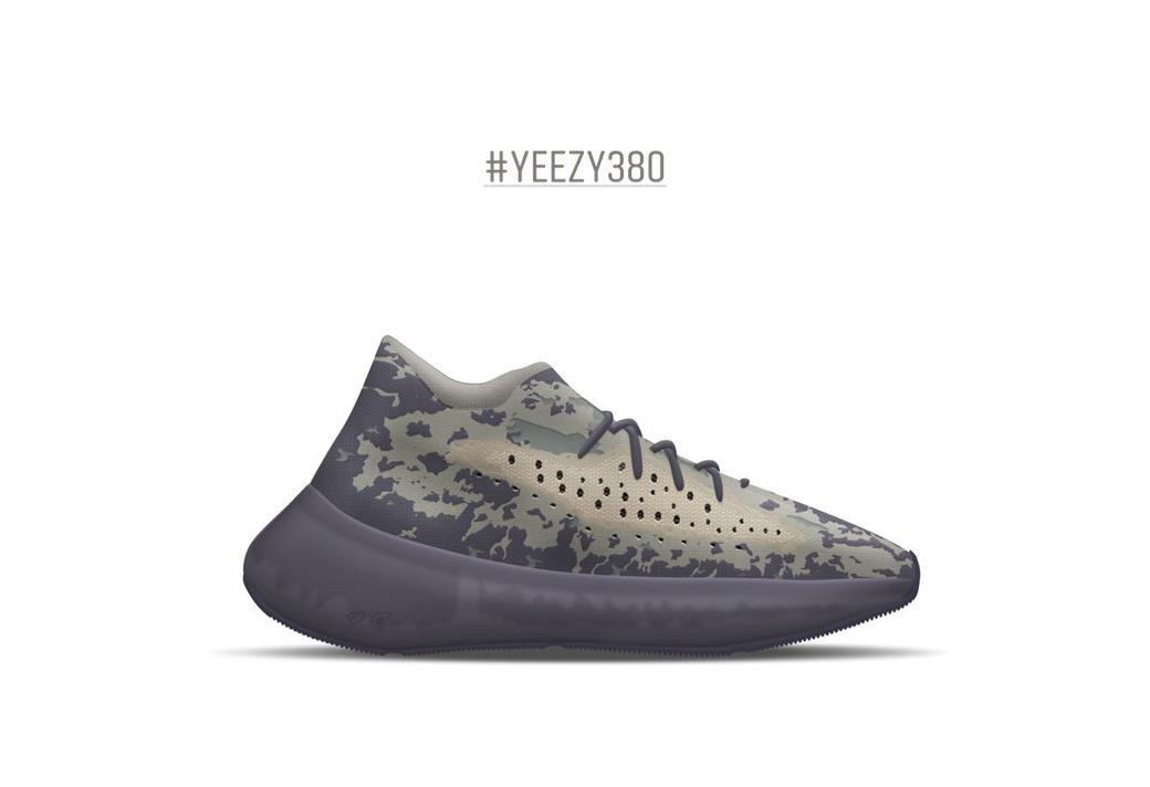 Yeezy 380,Yeezy 记住它!这双鞋很有可能是 Yeezy Boost 380 第二配色!