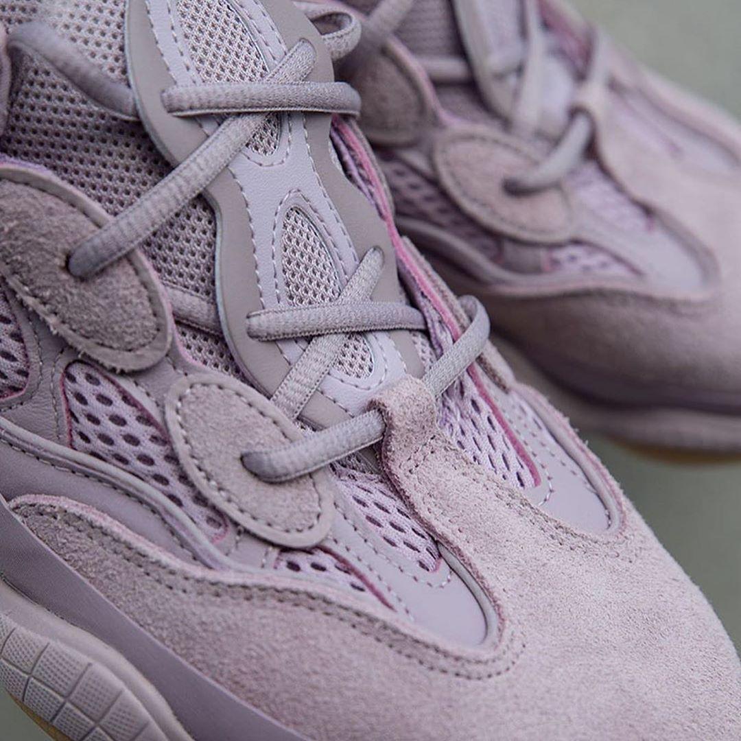 adidas,Yeezy 500,发售,FW2656 本月最粉嫩球鞋新品!紫罗兰 Yeezy 500 国内发售跳票