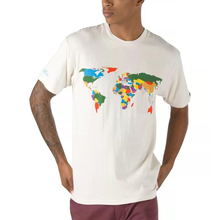 Vans,Save Our Planet 满印地图!Vans 这波环保联名每款都想要!