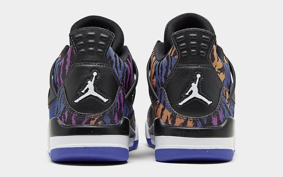 Air Jordan 4,AJ4,BQ9043-005,发售 炫彩虎纹前所未见!这双 Air Jordan 4 有点帅!本月发售!