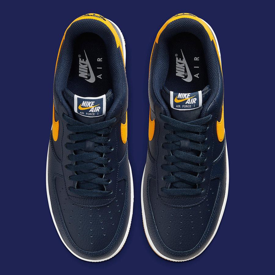 Nike,Air Force 1,af1,发售 质感十足!海军蓝 Nike Air Force 1 近期即将发售!