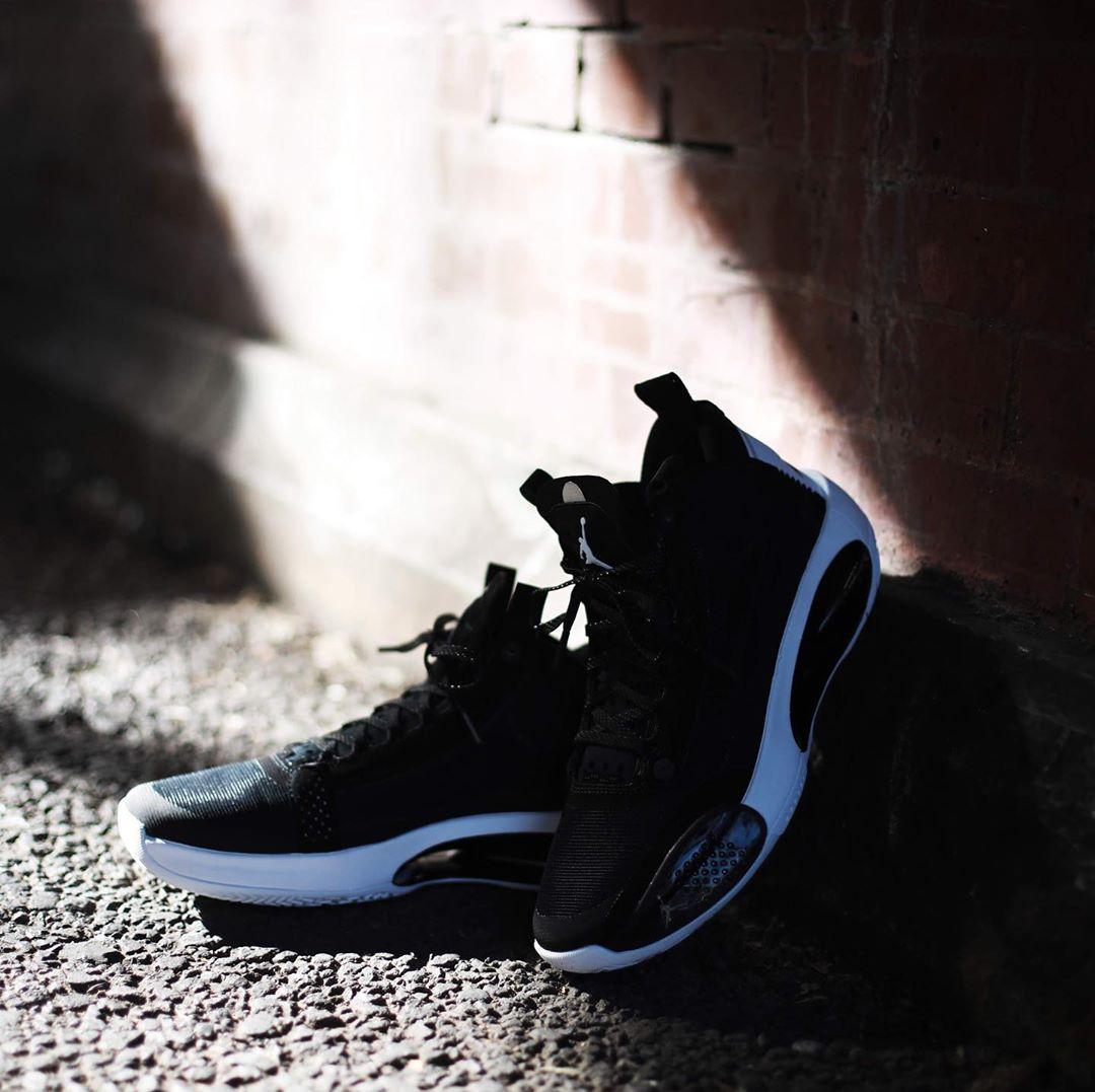 Air Jordan 34,aj34,发售  眼睛花了?叠影飞人设计加持,全新 Air Jordan 34 后天发售!