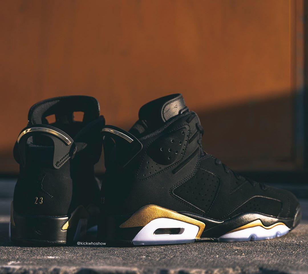 AJ6,Air Jordan 6,CT4594-007,发售 看完黑金 Air Jordan 6 上脚照就爱了!提前把钱准备好!