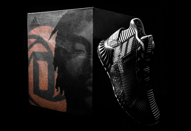 adidas,D ROSE 9,发售  全球限量 3778 套,纪念罗斯 50 分王者归来!这个细节看哭了