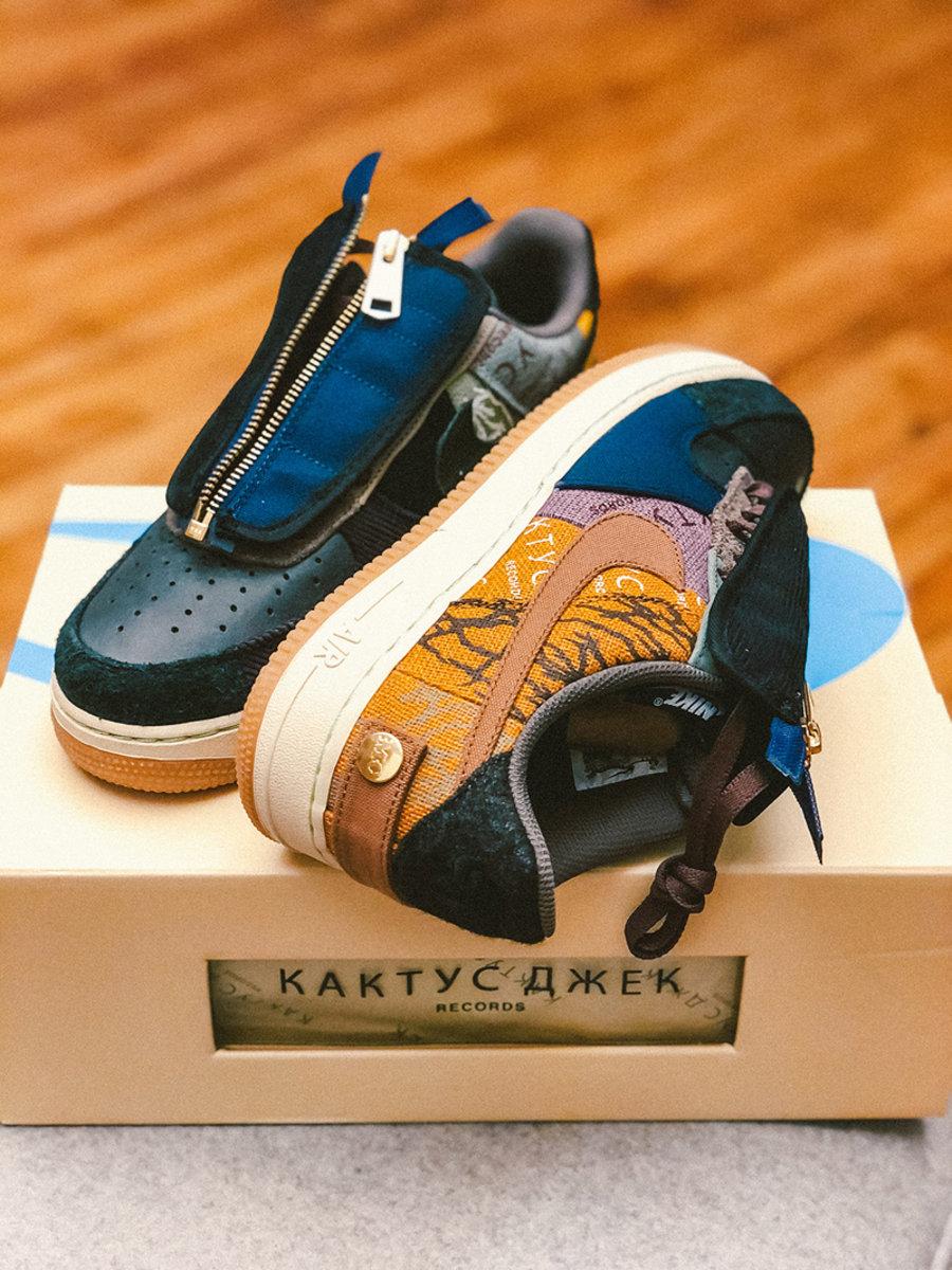Travis Scott,Air Force 1,AF1,发  鞋盒也是高规格!TS x AF1 最新美图来了!看完更想冲!