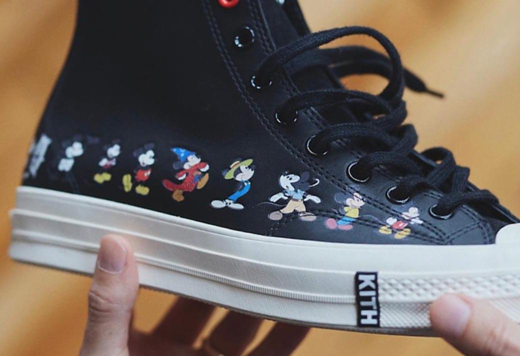 Chuck 70,Converse  米奇在鞋上排隊!KITH x 迪士尼 x Converse 三方聯名來了!