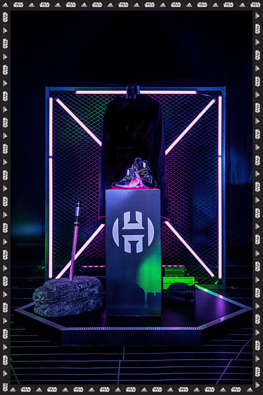 adidas,Harden Vol.4,Dame 5,D R  星战 x adidas 路人王篮球赛上海打响!三款光剑战靴正在热卖!
