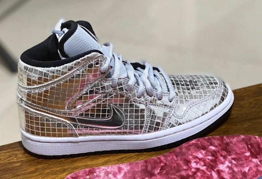 AJ1,Air Jordan 1,Disco 「真 · 最闪耀的灯球」!穿上这双 AJ1,不想最亮也不行!