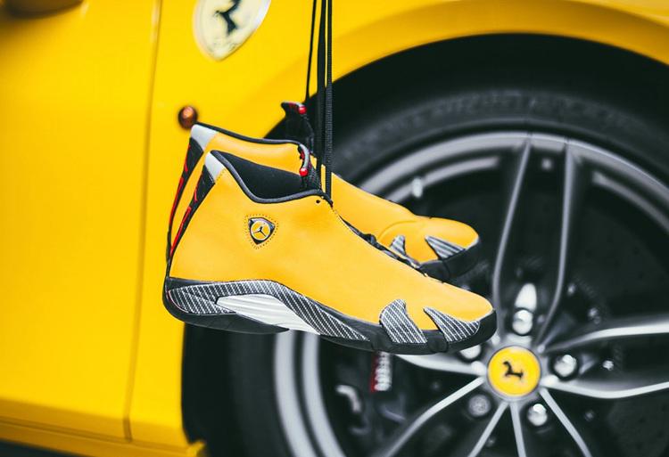 AJ,AJ14,Air Jordan 14 SE,Black  全新「法拉利」配色曝光!Air Jordan 14 Ferrari 下月发售!