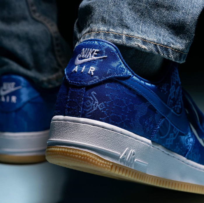 Nike,CLOT,Air Force 1,Air Jord 今早「蓝丝绸」抢到了么?其实后面还有更狠的!