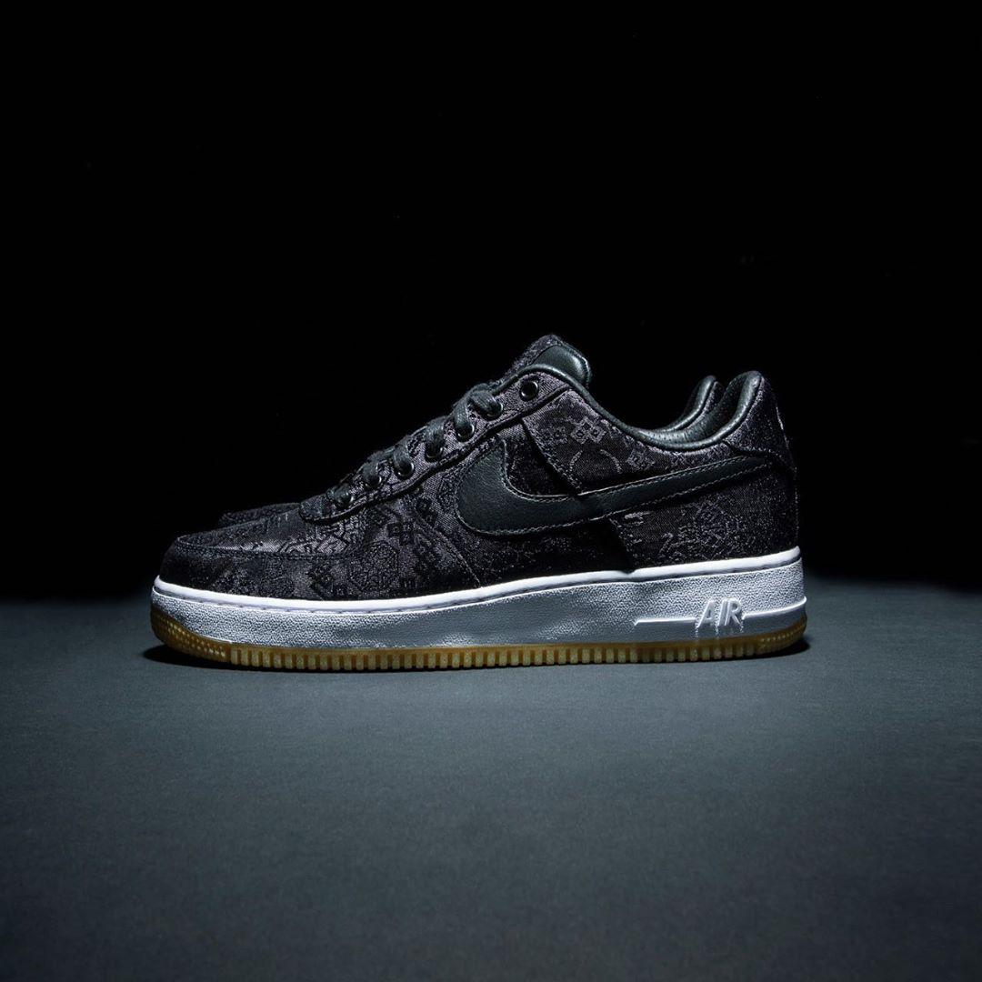 Nike,fragment,Nike,Air Force 1 陈冠希公布黑丝绸 AF1 三方联名!对他来说「梦想成真」!