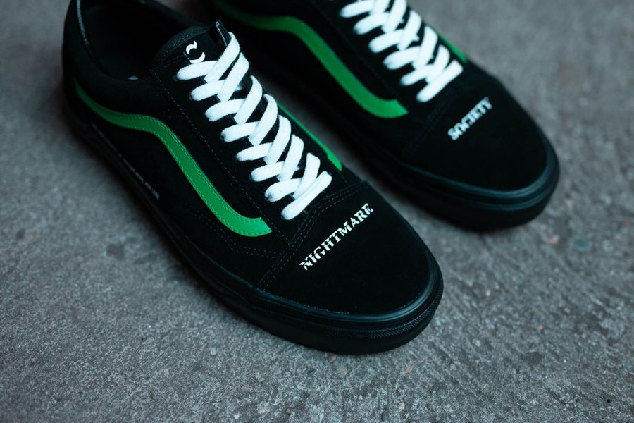 Coutié,Vans,发售,Old Skool 毒蛇图案 + 暗黑色调!Coutié x Vans 联名新鞋真的够酷!