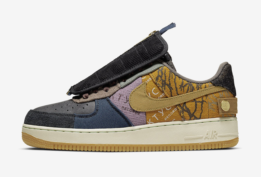 Nike,Air Force 1,Travis Scott, 市价翻 7 倍!Travis Scott x AF1 国内开启登记!手慢无!