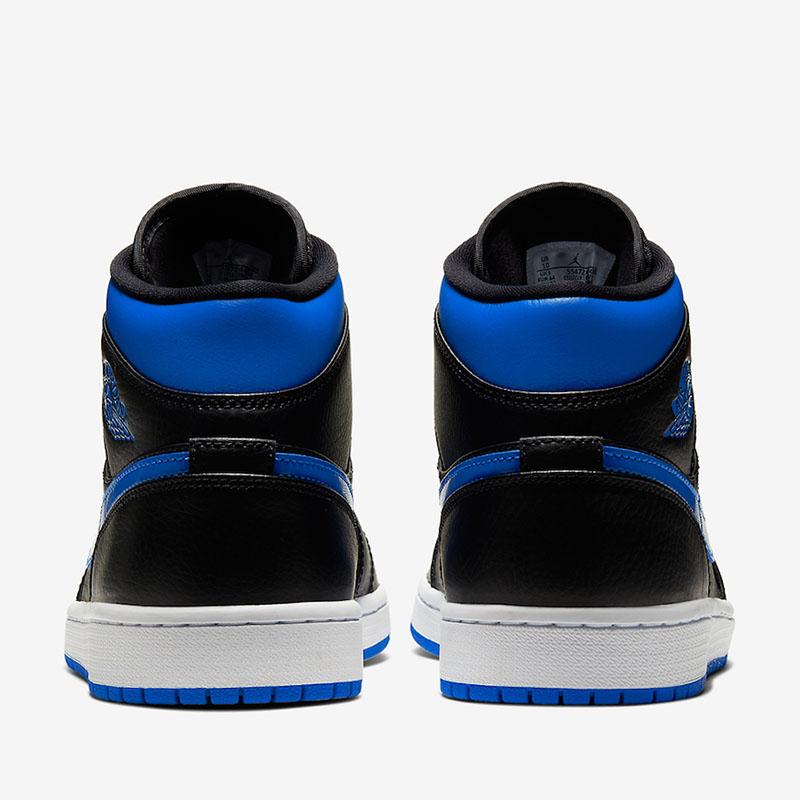 Air Jordan 1 Mid,AJ1,Royal,554 入手难度更低!皇家蓝 Air Jordan 1 Mid 即将发售!
