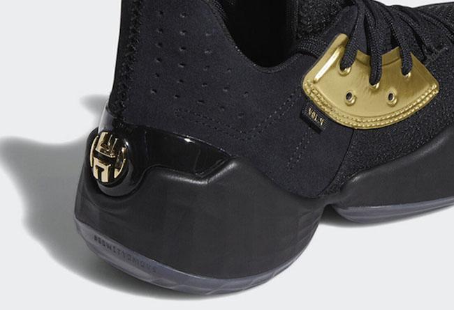 adidas Harden Vol. 4,Harden,ad 穿搭醒目,实战拉风!黑金 Harden.Vol.4 即将发售!