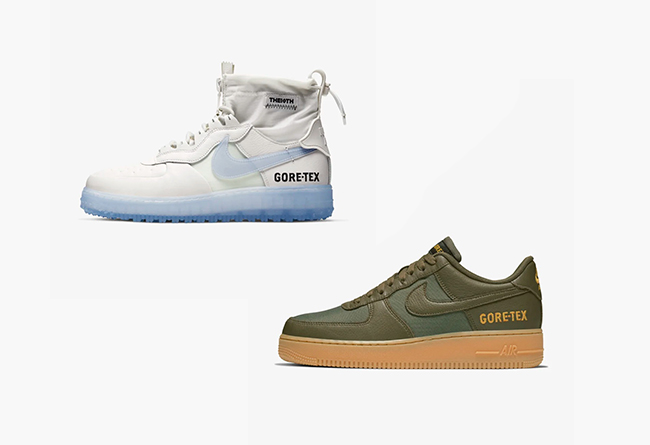 Nike,Air Force 1,AF1,Gore-Tex, GORE-TEX 加持!两双机能 Air Force 1 上架官网!