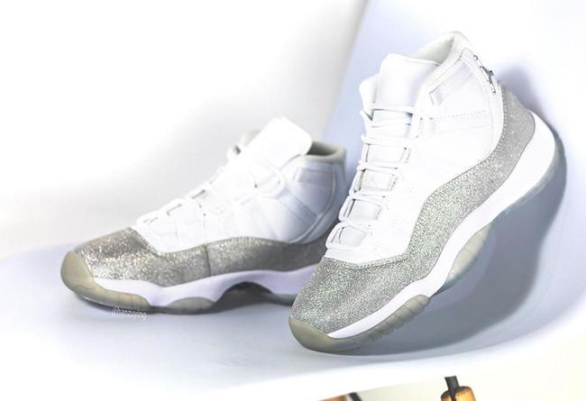 AJ11,Air Jordan 11,AR0715-100, Air Jordan 11 也有满天星配色!高级闪粉涂装,上脚应该很帅!