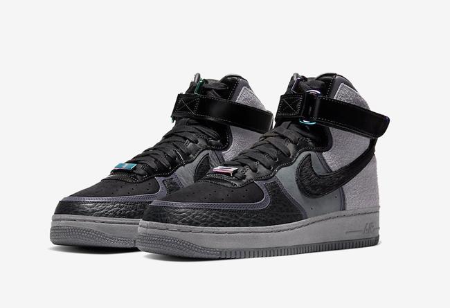 Air Force 1,AF1,Nike,A Ma Mani 绝佳质感 + 炫目反光!这双联名 Air Force 1 不容小觑,发售临近!