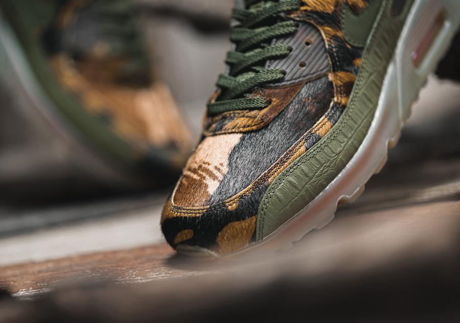 CU0675-300,Air Max 90,Nike CU0675-300 鳄鱼皮纹 + 野性鬃毛!这双 Air Max 90 可是官方出品哦!