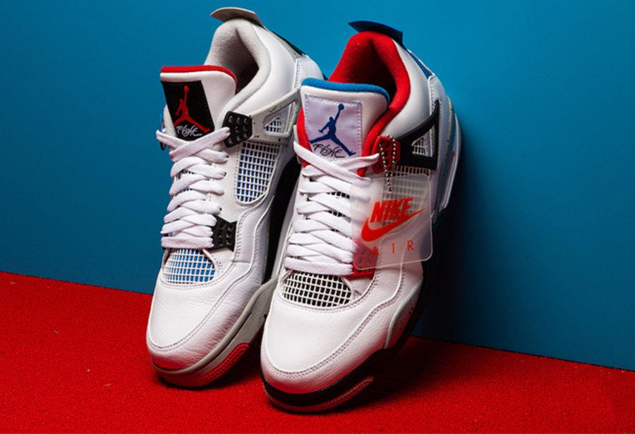 "AJ,AJ4,Air Jordan 4,What The,C 美国货量图释出!Air Jordan 4 ""What The"" 天猫正式预告!"
