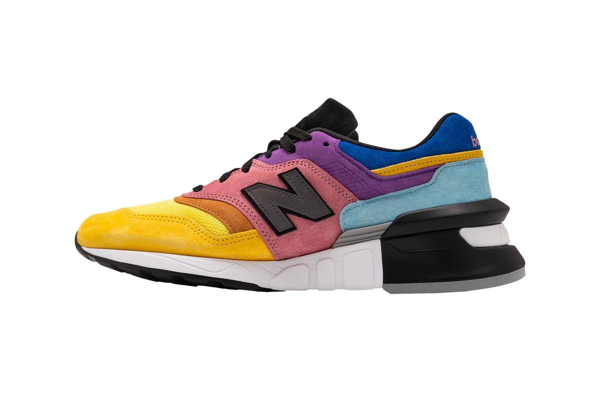 New Balance,997S,发售  多彩拼接 + 彩蛋风格!New Balance 997S 海外已发售!