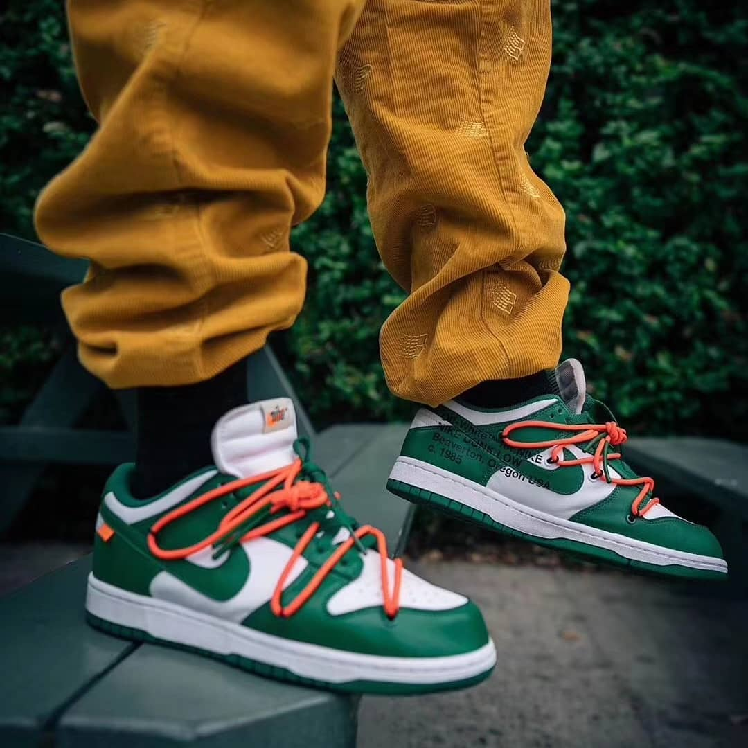 Dunk Low,Nike,OFF-WHITE,CT0856 OFF-WHITE x Dunk Low 下月发售!最新上脚美图先睹为快!