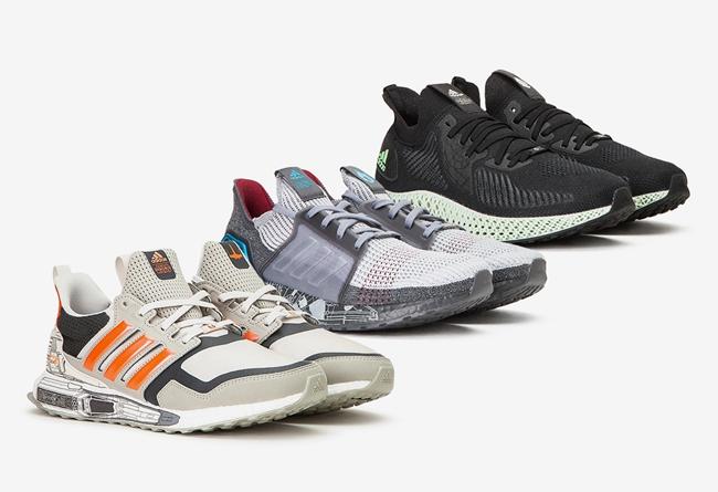 Star Wars,adidas,Ultra Boost S 与粉丝上亿的电影联名!adidas 这三双鞋你打几分?