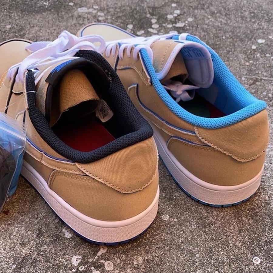 AJ1,Nike SB,Air Jordan 1,CJ789 不对称配色 + 双层可撕鞋面!全新 Nike SB x AJ1 Low 下月发售!