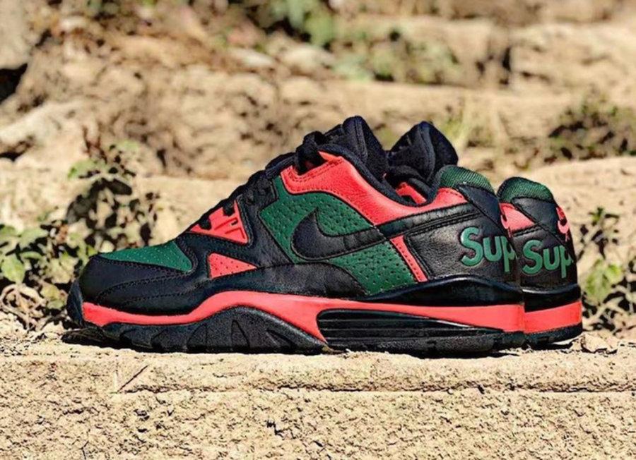Nike,Air Cross Trainer 3 Low 不止 Gucci 色!Supreme x Nike 又一新配色曝光!