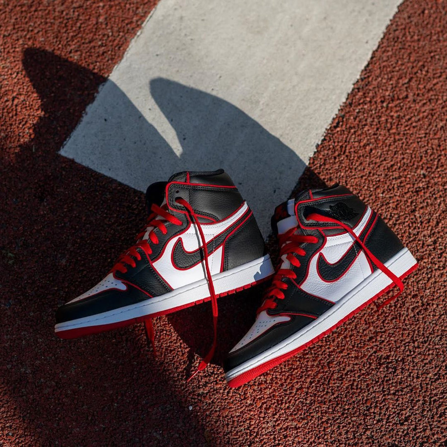 555088-062,AJ1,Air Jordan 1 555088-062 AJ1 别忘了!这双「黑红」Air Jordan 1 下周正式发售!