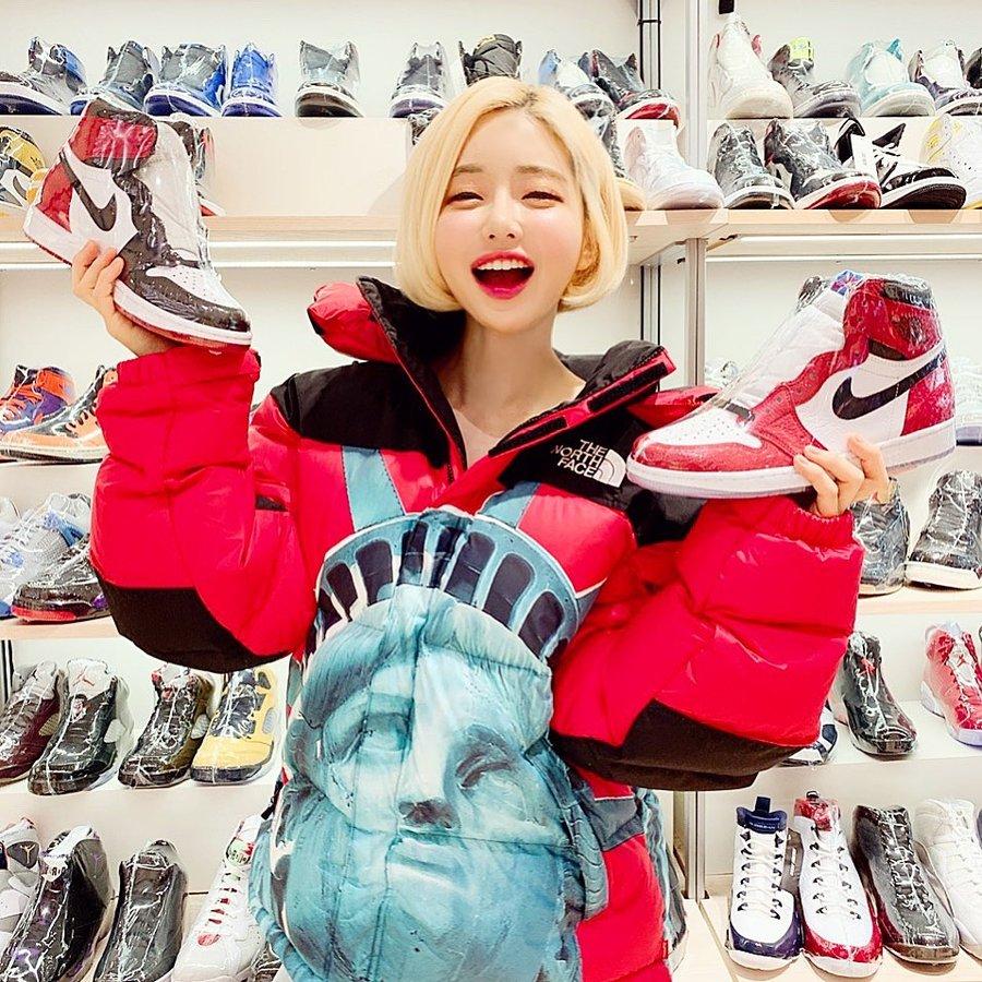 AF1,AJ1,Nike 什么狠鞋都有!「全球最顶级女鞋头」说的可能就是她们几位!