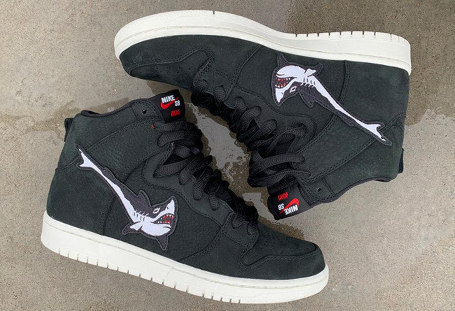 Dunk,SB,OSKI 「大白鲨钩子」OSKI x Nike SB Dunk High 完整实物释出!下月发售!