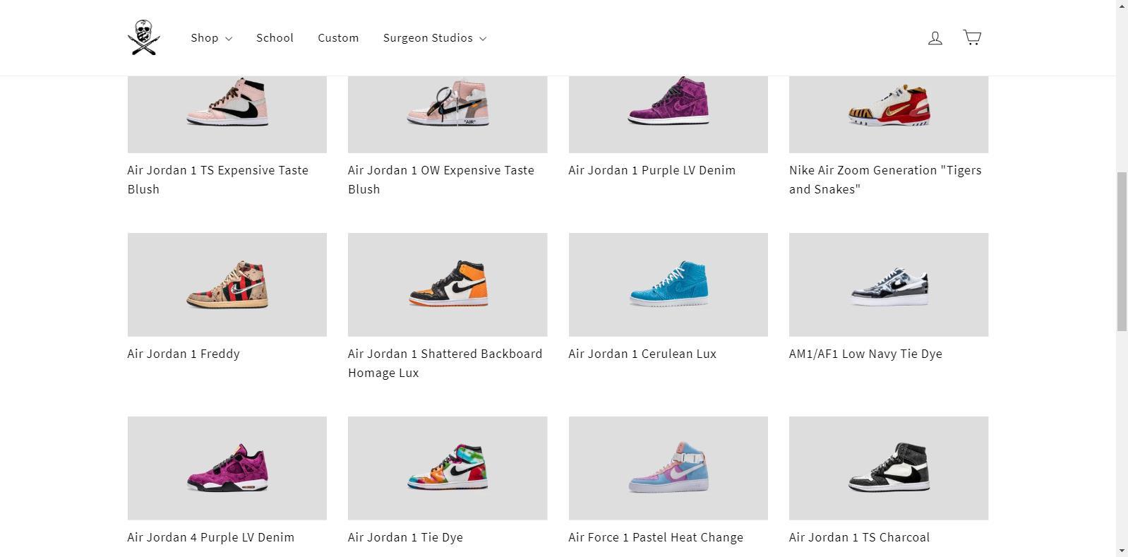 Air Jordan 1,AJ1,The Shoe Surg 拆限量 LV 做鞋,全球就他们一家!Drake、韦德都是忠实顾客!