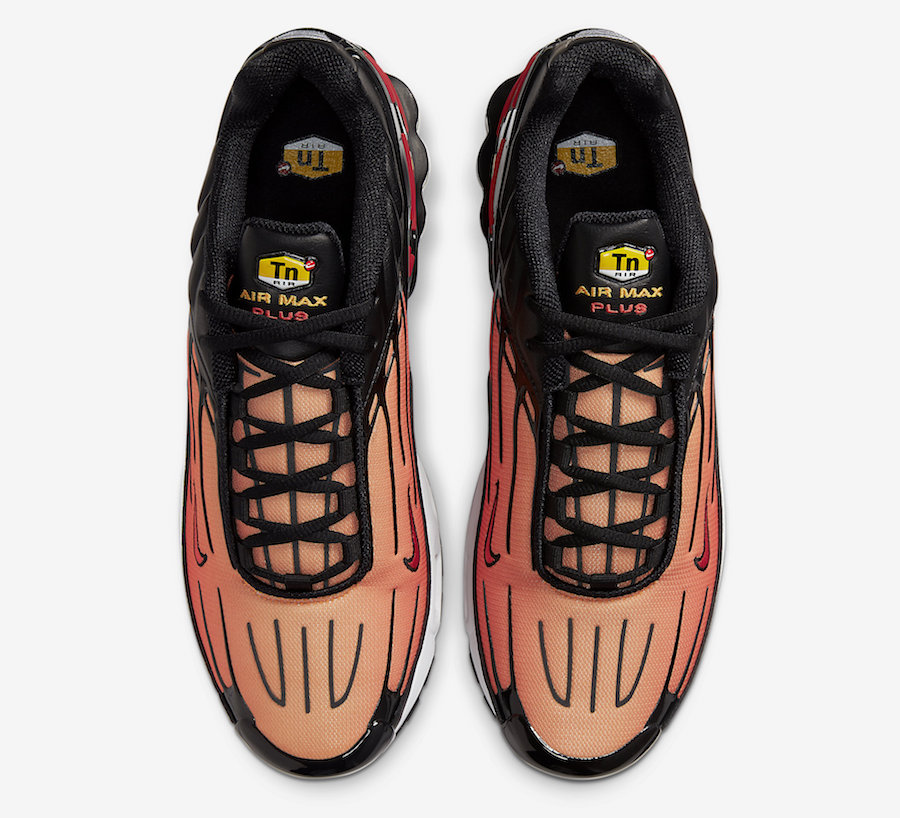 "Air Max Plus 3,Tiger,Tuned Air 硬朗复古科技跑鞋!全新配色 Air Max Plus 3 ""Tiger"" 即将发售!"