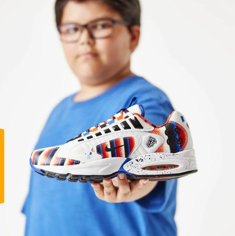 "Nike,Air Max Triax 96,Doernbec 设计走心更 ""走肾""!慈善系列 Air Max Triax 96 下月发售!"