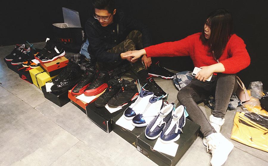 飞翔市集,HZP 卖了闲置还结交了朋友!上周末最幸福的鞋友恐怕就是他们!