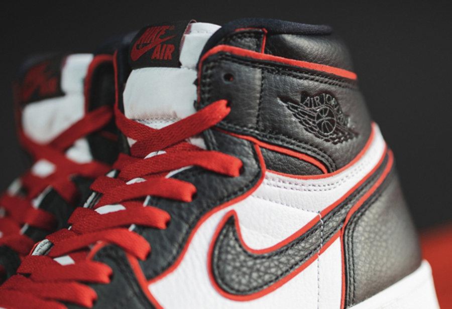 Air Jordan 1,AJ1,555088-062,发售 官网链接已释出!新黑红 Air Jordan 1 本周五发售