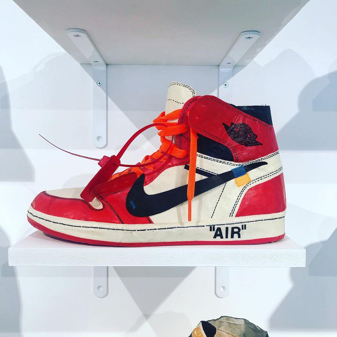 AJ1,Air Jordan 1,发售 如何花 50 元做一双倒钩 AJ1!今天教你轻松搞定!