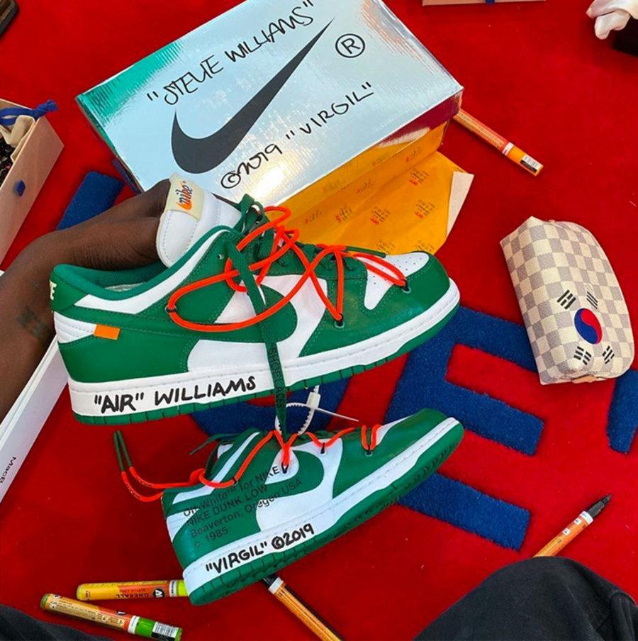 Nike,Dunk High SP,Pro Green,CZ  又一经典 Dunk 确定复刻,这次是 OFF-WHITE 主理人的残念!