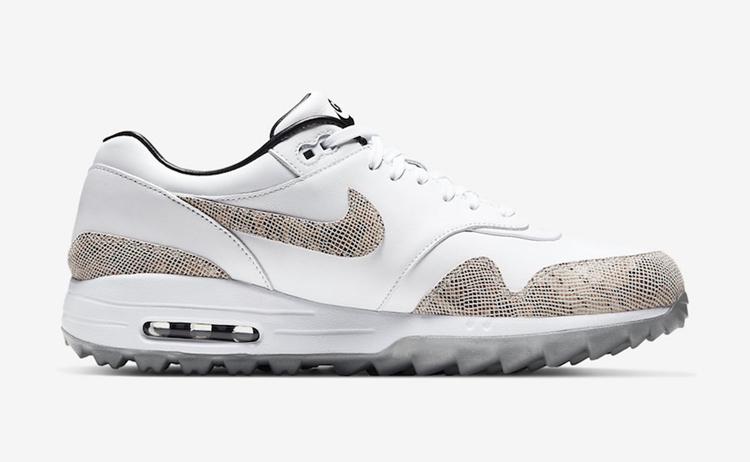 Nike,Air Max 1 Golf NRG,CI6876 蛇纹有点野!全新 Air Max 1 Golf NRG 黑五当天正式发售!