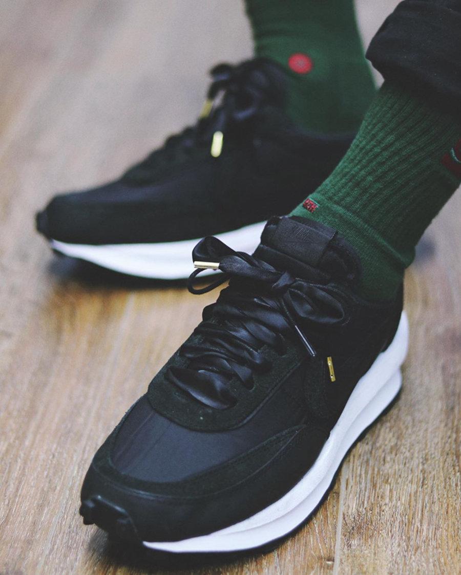 sacai,Nike,LDV Waffle,Nylon,BV  官网已上线!黑白 sacai x Nike 细节预览!下周发售!