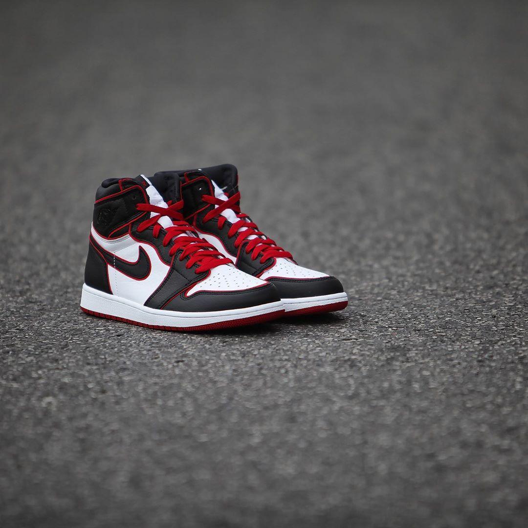 AJ1,Air Jordan 1,555088-062 最便宜的黑红 AJ1 要来了!本周末发售,实物细节抢先看!