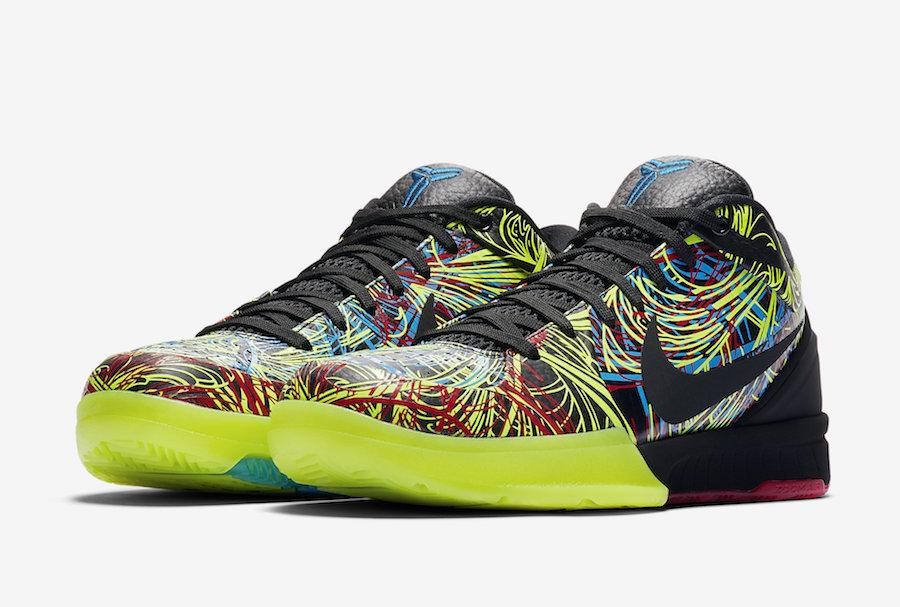 """Kobe 4 Protro,ZK4,发售,Nike,CV34 目前最炫配色来了!Kobe 4 Protro """"Wizenard"""" 周日官网发售"""