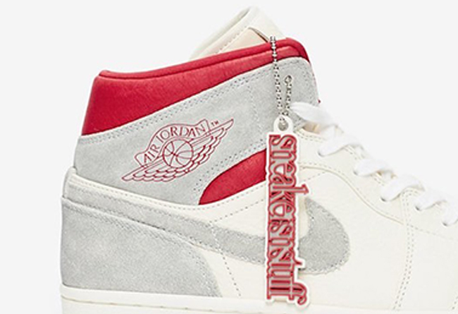 AJ1,SNS,Sneakersnstuff,Air Jor 瑞典老牌店铺联名!SNS x AJ1 Mid 即将发售!