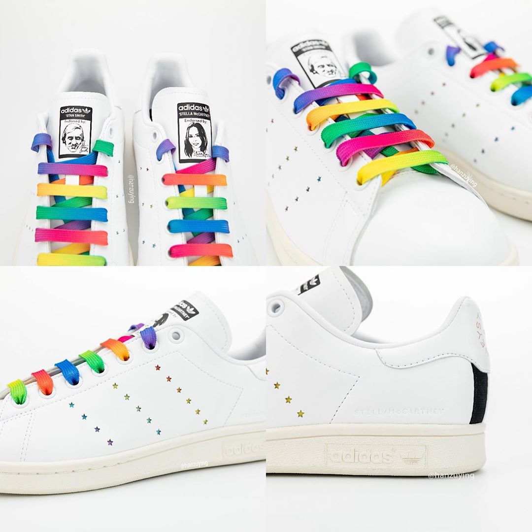 Stan Smith,adidas, 英国时装联名!Stella McCartney x Stan Smith 下周发售!