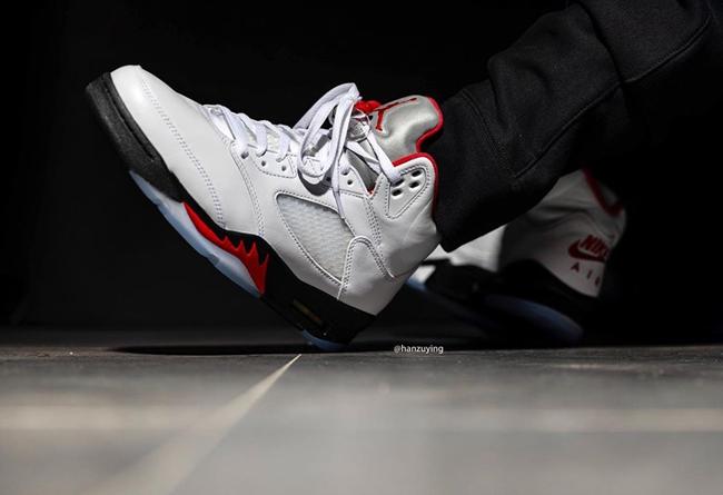 AJ,AJ5,Air Jordan 5,Fire Red,D 流川枫 Air Jordan 5 上脚首次曝光!预计明年 3 月发售!